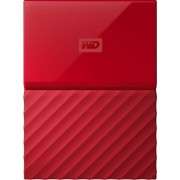 "HDD extern WD My Passport 4TB, 2.5"", USB 3.0, Rosu"