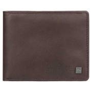 Quiksilver - peňaženka CURVECUTTER chocolate brown Velikost: M
