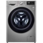 LG Lavadora-secadora LG F4DN408S2T lavadora Carga frontal Independiente Acero A