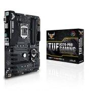 Asus tuf h370-Pro Gaming mainboard Socket 1151 (ATX, Intel h370, DDR4, M.2, Intel optane, USB 3.1 Gen 2, Asus Aura sync)