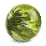 Medium Glazen Bal Dierenurn Elan Marble Green (1.5 liter)