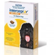 Interceptor Spectrum For Medium Dogs 11-22 kg (24-48 lbs), 6 Tasty Chews