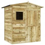 vidaXL Șopron de grădină, 1,5 x 2 m, lemn de pin tratat certificat FSC