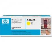 Тонер касета за Hewlett Packard CLJ 2550 Series, жълт (Q3962A)