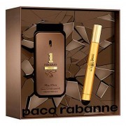 Kit Perfume One Million Privé Masculino Paco Rabanne EDP 50ml + Travel Spray 10ml - Masculino