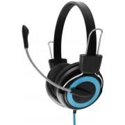 Casti Stereo cu microfon ESPERANZA EH152B (Negru/Albastru)