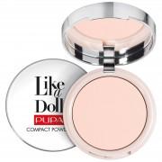 PUPA Like A Doll Nude Skin Compact Powder (Various Shades) - Tender Rose