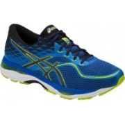 Asics Gel-Cumulus 19 Running Shoes For Men(Blue, Navy, Green)