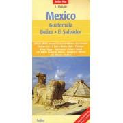 Wegenkaart - landkaart Mexico | Nelles
