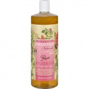 Dr. Jacobs Naturals Liquid Soap - Castile - Rose - 32 oz
