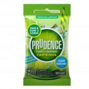 Preservativo Cores E Sabores- Caipirinha 3 Unidades Prudence