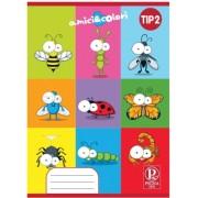 Caiet Tip II 24 file Pigna