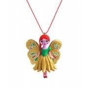 Naszyjnik w kształcie motylka biżuteria dla dziewczynki DJECO DD03805