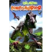 Dinosaurier : Målarbok 12-pack