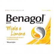 Reckitt Benckiser H.(It.) Spa Benagol*16past Miele Limone
