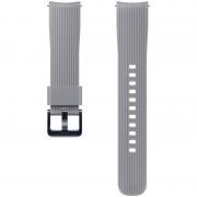 Curea smartwatch Samsung Silicone Strap 20 mm Grey pentru Samsung Galaxy Watch 42 mm