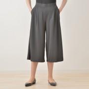 ミズノ 着る木陰 遮熱UVガウチョパンツ【QVC】40代・50代レディースファッション