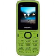 Mymax M41 (Dual Sim 1.77 Inch Display Wireless FM 1000 Mah Battery Green Colour)