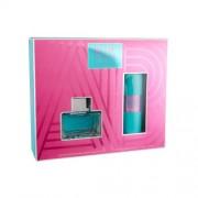 Antonio Banderas Blue Seduction For Women подаръчен комплект EDT 80 ml + дезодорант 150 ml за жени