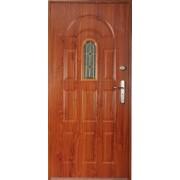 Drzwi stalowe z przeszkleniem ARUBA
