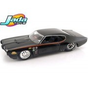 Jada 90344Or 1969 Pontiac Gto Judge Pro Stock Orange 1-24 Diecast Car Model
