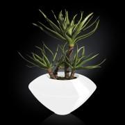 Aranjament floral design LUX, CAIRO IN SHINY VASE, alb 150cm 1141234.95
