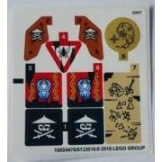 stk70604 Autocolant LEGO Ninjago 70604