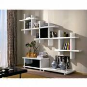 Zendart Design Sélection Meuble TV design avec porte ALBA 180x50cm par Zendart Design