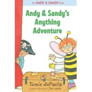 Andy & Sandy's Anything Adventure, Hardcover
