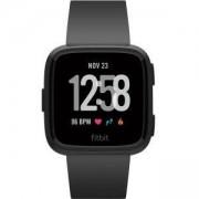 Смарт часовник Fitbit Versa NFC, Black Aluminu, FB505GMBK-EUСмарт часовник Fitbit Versa NFC, Black Aluminu, FB505GMBK-EU