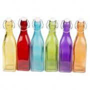 Geen Deco flessen gekleurd 27 cm