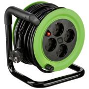 REV Mini Cable Drum 4fold 15m green black