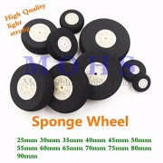 Generic size F 4pcs : 4pcs/lot high quality 25mm ~ 90mm sponge wheel rc airplane wheels high strength rc aircraft electric rc airplane foam wheels