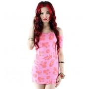 rochie femei IRON FIST - aloha cățelele - Roz - IFLDRS12516S14