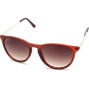 MTV Roadies Round Sunglasses(Brown)