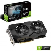 Asus GeForce GTX 1660 Super Overclocked 6 GB Dual Fan Evo Edition VR Ready HDMI DisplayPort DVI Grafikkarte (DUAL-GTX1660S-O6G-EVO)