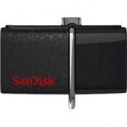 Флаш памет SanDisk, 16GB OTG Ultra Android Dual USB 3.0 Drive, Retail, SD-USB-DD2-016G-GAM46
