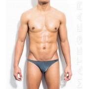 Mategear Sang Jun Air Nylon Very Sexy Nano Bikini Underwear Dark Grey 401103