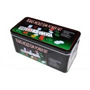 Set Poker Texas 200 Jetoane, Carti si Postav