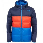 The North Face Boys Reversible Moondoggy Jacket Cosmic Blue Vinterjacka Barn