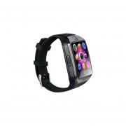 Reloj Inteligente Bluetooth Con Ranura Para Tarjeta SIM Cámara Podómetro Reloj De Pulsera Para Dispositivos Inteligentes Samsung Galaxy Note 5 4 3 S6 S7 Edge S8 LG HTC Huawei (Negro)