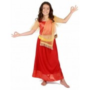 Vegaoo Bollywood danseres kostuum voor meisjes 140/152 (10-12 jaar)