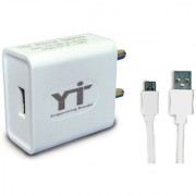 YTI 1.5A. USB Adapter with cable (1 mtr) for Lenovo A6000