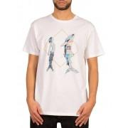 VOLCOM Herren T-Shirt Pangea See Vexta weiß L