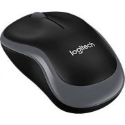 Logitech Muis Logitech B220 Silent, draadloos, Nano-USB-ontvanger