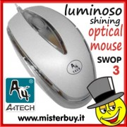MOUSE OTTICO LUMINOSO A4TECH - SWOP 3