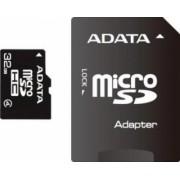 Card de Memorie ADATA microSDHC 32GB Class4+Adaptor