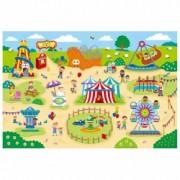 Giant Floor Puzzle Parcul de distractii 30 piese