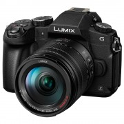 Panasonic Lumix DMC-G80H Aparat Foto Mirrorless Kit cu Obiectiv 14-140mm F3.5-5.6 ASPH POWER O.I.S. Negru