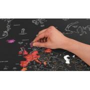 ActievandeDag.be Wereld kraskaart